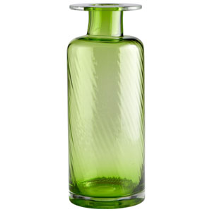 Apothecary Green Large Vase