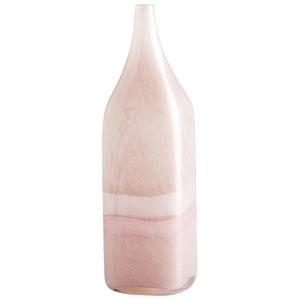 Tiffany Pink and White Large Vase