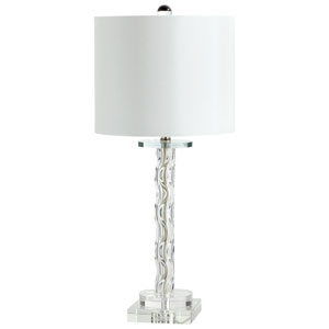 Votto Clear One-Light Table Lamp