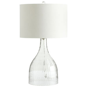 Big Dipper Clear One-Light Table Lamp