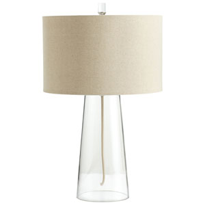 Wonder Clear One-Light Table Lamp