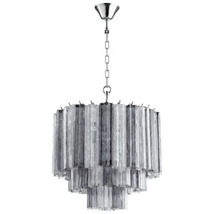 Night and Day Chrome Four-Light Pendant