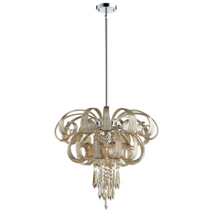 Cindy Lou Who Chrome Nine-Light Chandelier