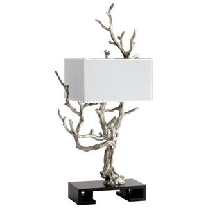 Mesquite Mystic Silve Four-Light Table Lamp