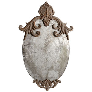 Charlemagne Rustic Mirror