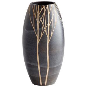 Black Small Onyx Winter Vase