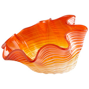 Orange Small Teacup Party Bowl
