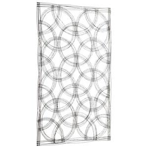 Kaleidoscope Graphite Wall Decor
