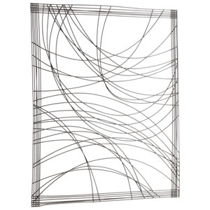 Lifeline Graphite Wall Decor