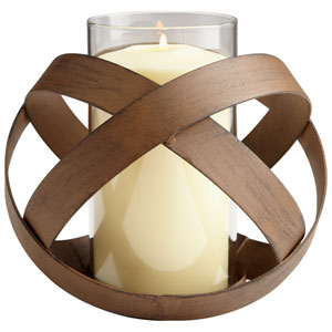 Copper Medium Infinity Candleholder