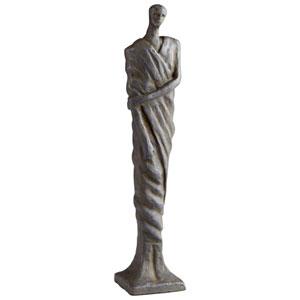 Rustic Bronze Mykos Male Sculpture