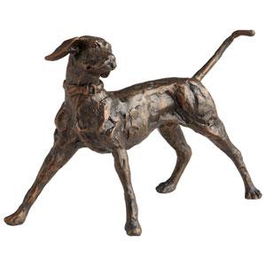 Bronze Fetch Sculpture