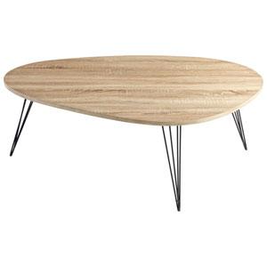 Lunar Landing Oak Coffee Table