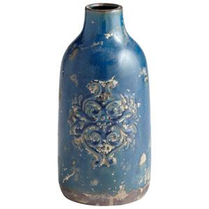 Garden Grove Blue Glaze Small Vase