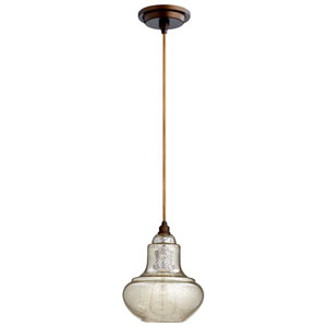 Camille Oiled Bronze One-Light Pendant