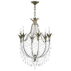 Luciana St. Regis Bronze Six-Light Chandelier