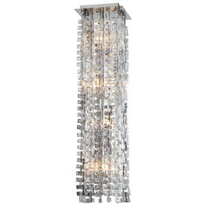 Athropolis Chrome Eight-Light Pendant