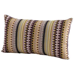 Ziggy Purple 14 x 24-Inch Pillow