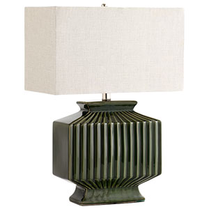Hamilton Green One-Light Table Lamp