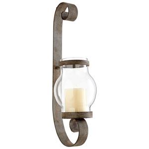 Giralda Oyster Silver Candleholder