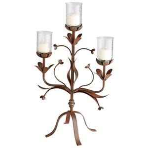 Azalea Rust Candleholder
