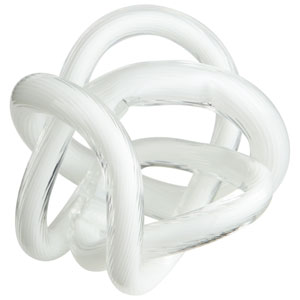 White Small Interlace Filler