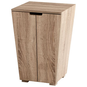 The Faroe Oak Veneer Cabinet
