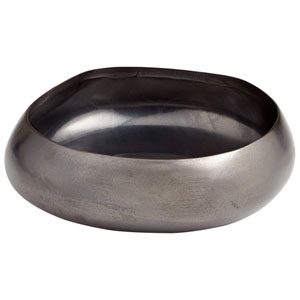 Vesuvius Black Metal Small Bowl