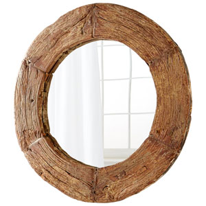 Wagon Walnut Mirror