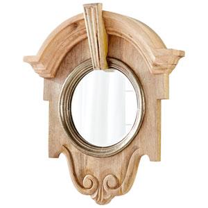 Natural Mahogany Mirror
