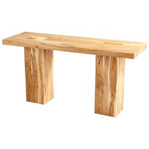 Yosemite Natural Console Table