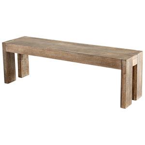 Segvoia Weathered Pine Bench