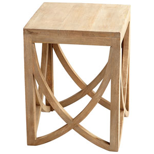 Lancet Arch Light French Grey Side Table