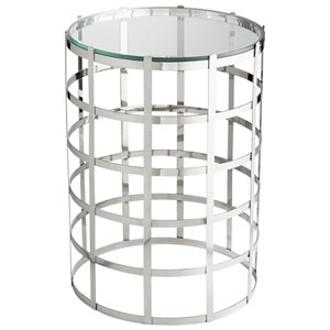 Ecliptic Chrome Accent Table