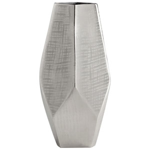 Celcus Textured Nickel Small Vase