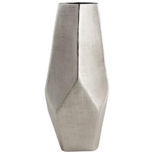 Celsus Textured Nickel Vase