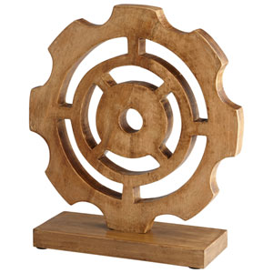 Bangalore Bleached Reclaimed Wood Sculpture
