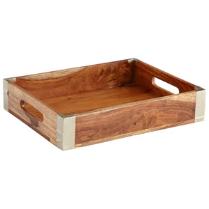 Wembley Bleached Reclaimed Wood Tray