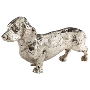 Antique Silver Crusoe Sculpture