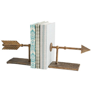 Rustic Archer Bookends