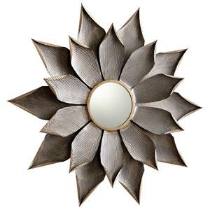 Graphite Small Blossom Mirror