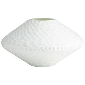 White Buttercream Vase