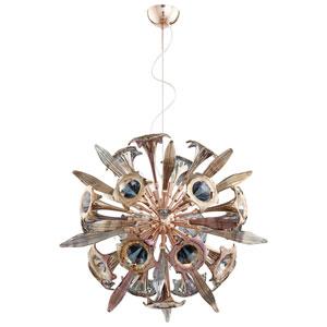Remy Satin Copper 12-Light Pendant