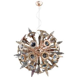 Remy Satin Copper 16-Light Pendant