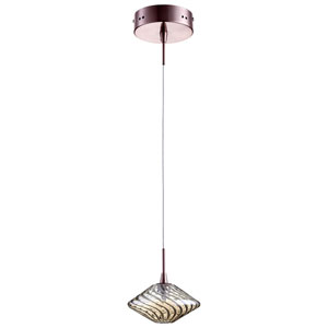 Clive Satin Copper One-Light Pendant