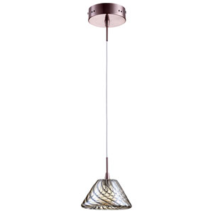 Orson Satin Copper One-Light Pendant