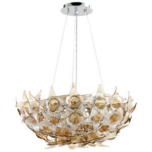 Moon Lillie Cognac Seven-Light Pendant