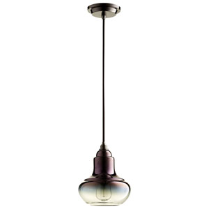 Camille Gunmetal One-Light Pendant