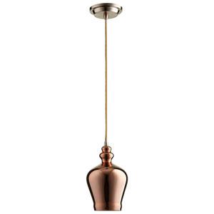 Calista Satin Copper One-Light Pendant