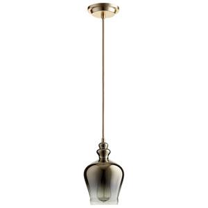 Calista Satin Gold One-Light Pendant